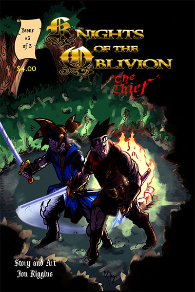 Knights of the Oblivion Issue 3
